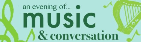 An evening of music and conversation